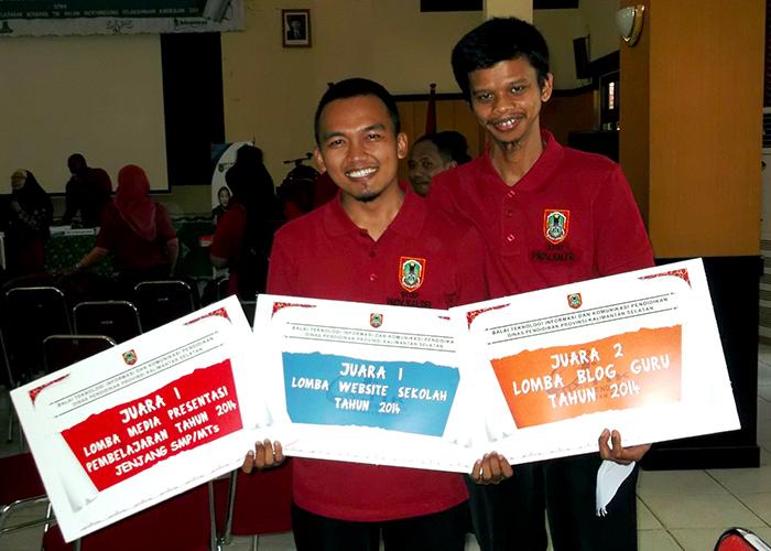 MTsN 1 CLU - Juara Gebyar TIK 2014